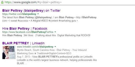 Linkedin + Blair Pettrey