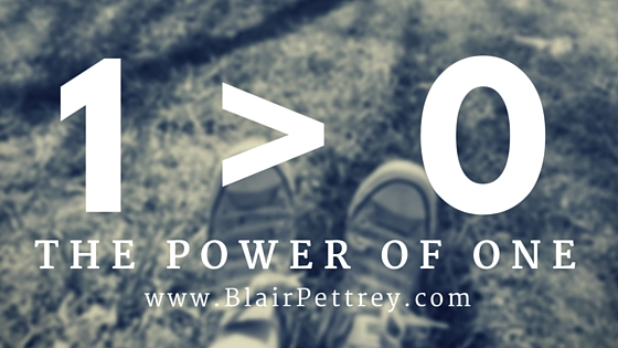 Blair Pettrey - the Power of One